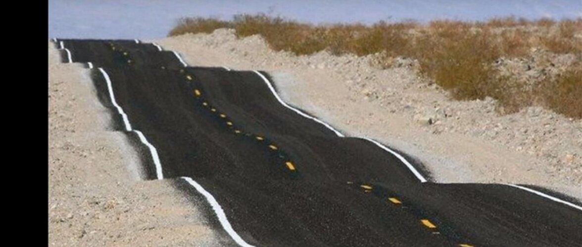 VAATA JA NAERA | Absurdselt naljakad teedeehituse pärlid