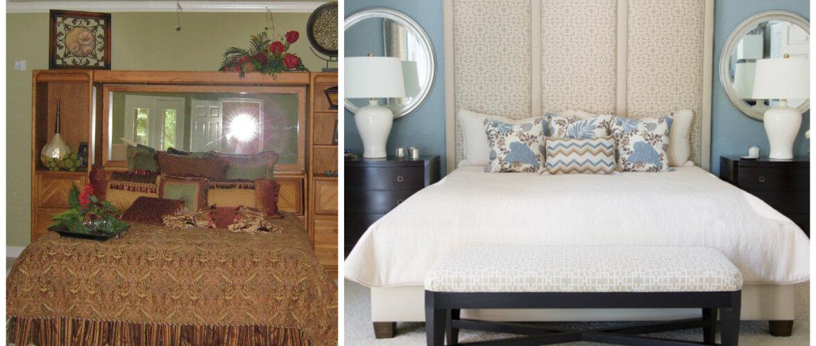 ENNE JA PÄRAST: Vana ja väsinud magamistuba sai uue ja stiilse kuue
