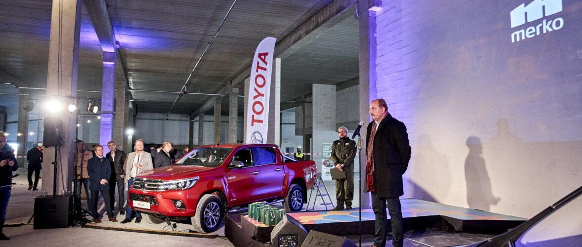 Merko premeeris parimat koostööpartnerit uhiuue Toyota Hiluxiga