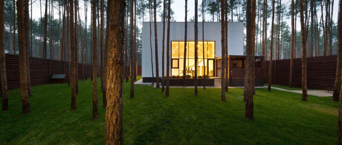 Kuubikusse rajatud modernne kodu