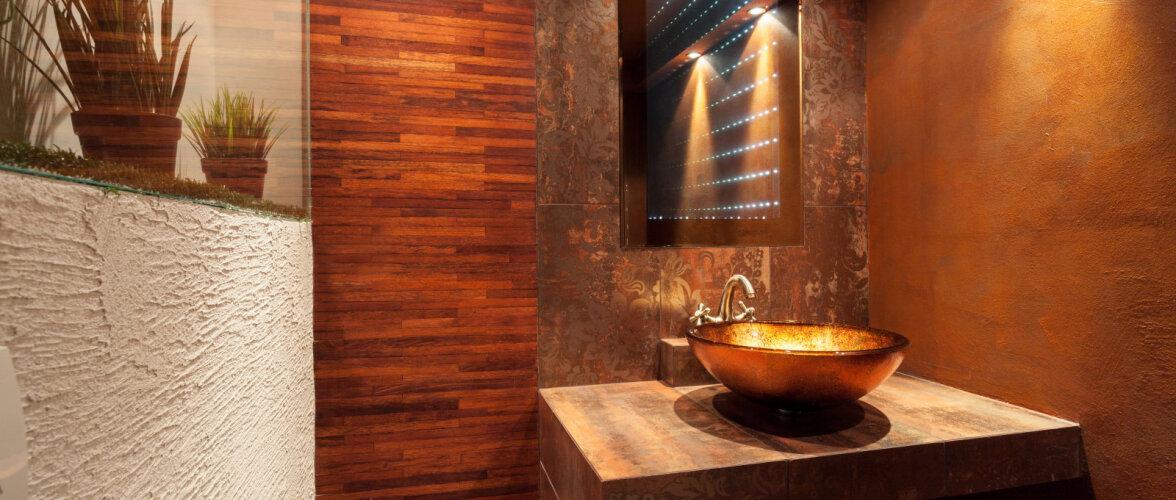 Puit vannitoas — originaalne ja turvaline lahendus