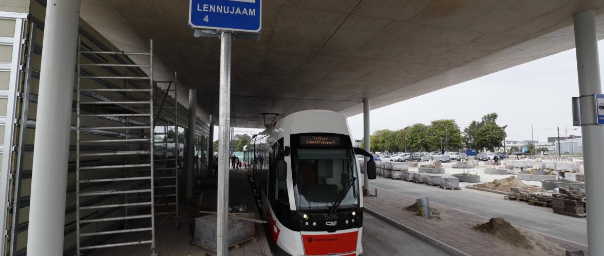 FOTOUUDIS | Nüüd saab trammiga otse lennujaama ukse ette