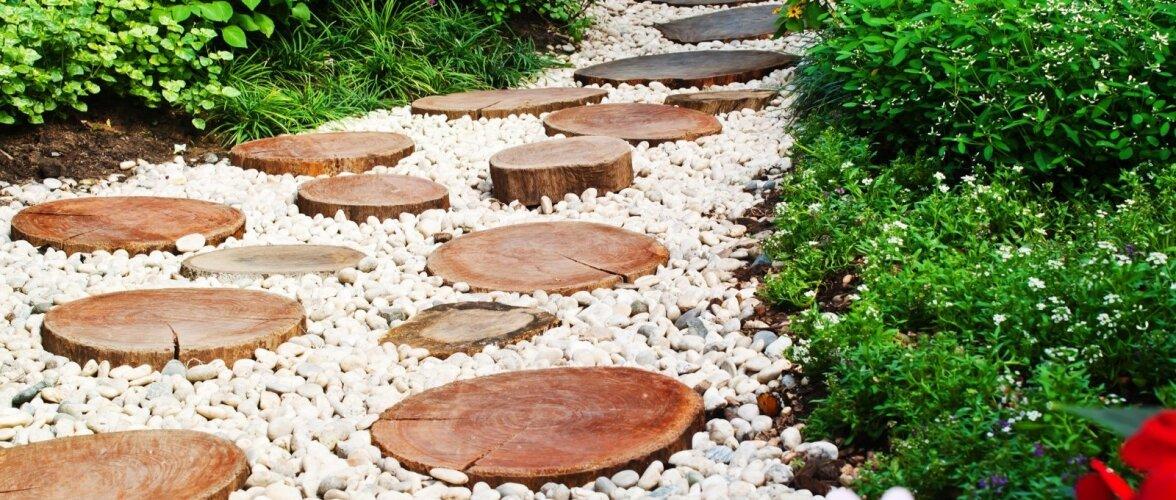 Mängime kividega — 10 ideed sinu aeda!