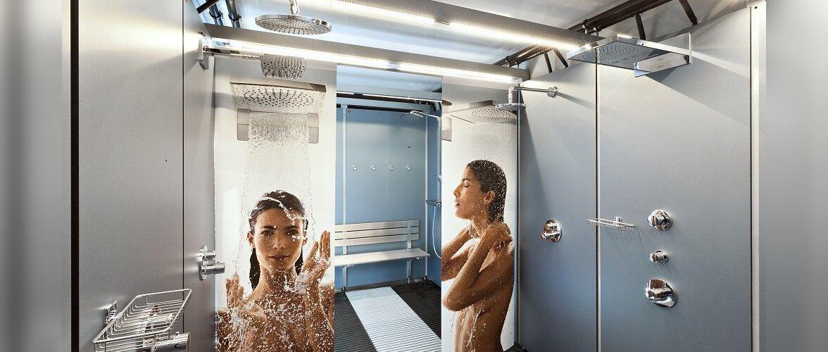 Moodne pesemisvõimalus: SEB Maijooks üllatab mobiilse dušimaailmaga