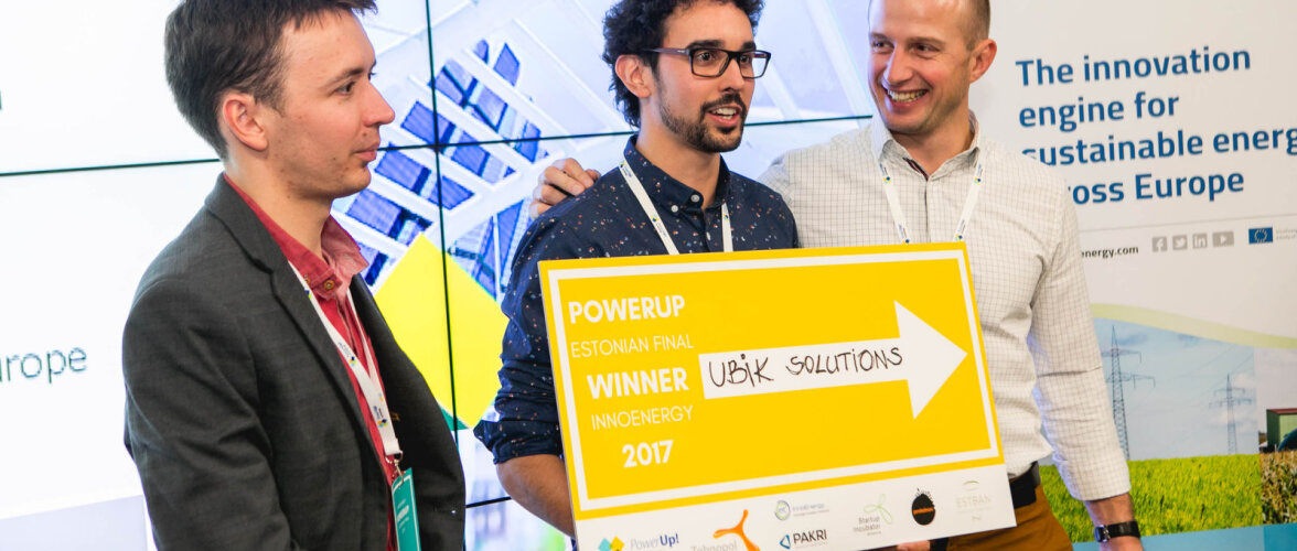 Idufirmade konkursi võitja Ubik Solutions teab, kuidas halvemates ilmaoludes efektiivsemalt päikeseenergiat kasutada