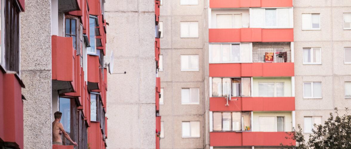 Paneelelamute rõdupiirded on väga halvas seisus. Tallinn asub toetama korterelamute rõdude ja varikatuste renoveerimist