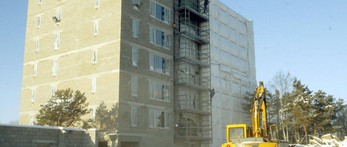 50 miljonit eurot aastas vana elamufondi renoveerimisse. Tarvis oleks 3 korda rohkem