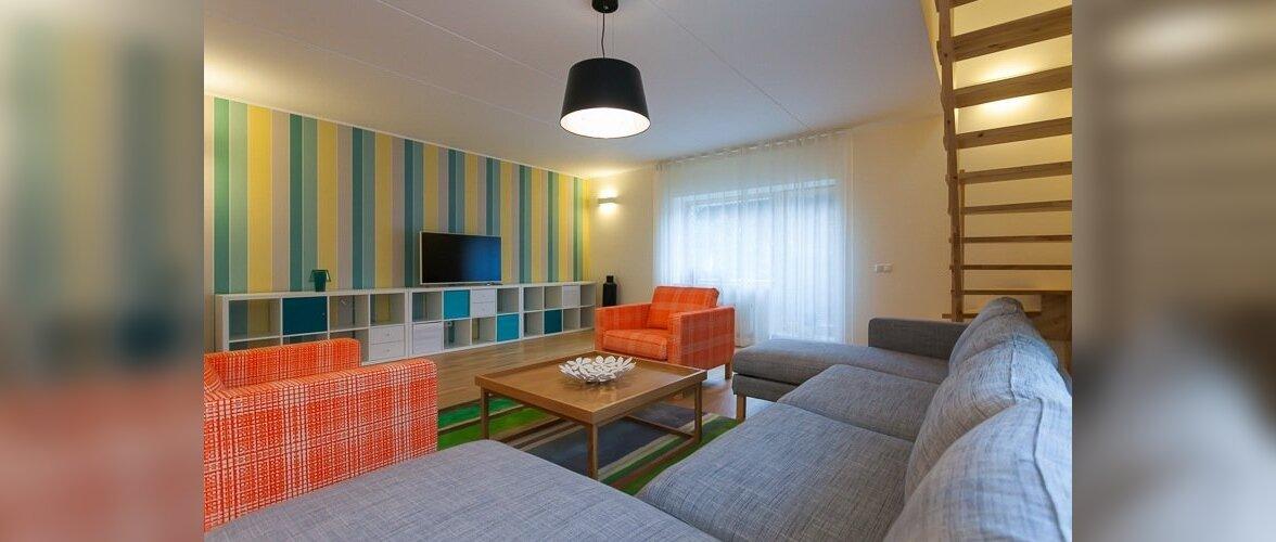 FOTOD: Värvikas ja ruumikas kodu ühes Kalamaja hoovimajas