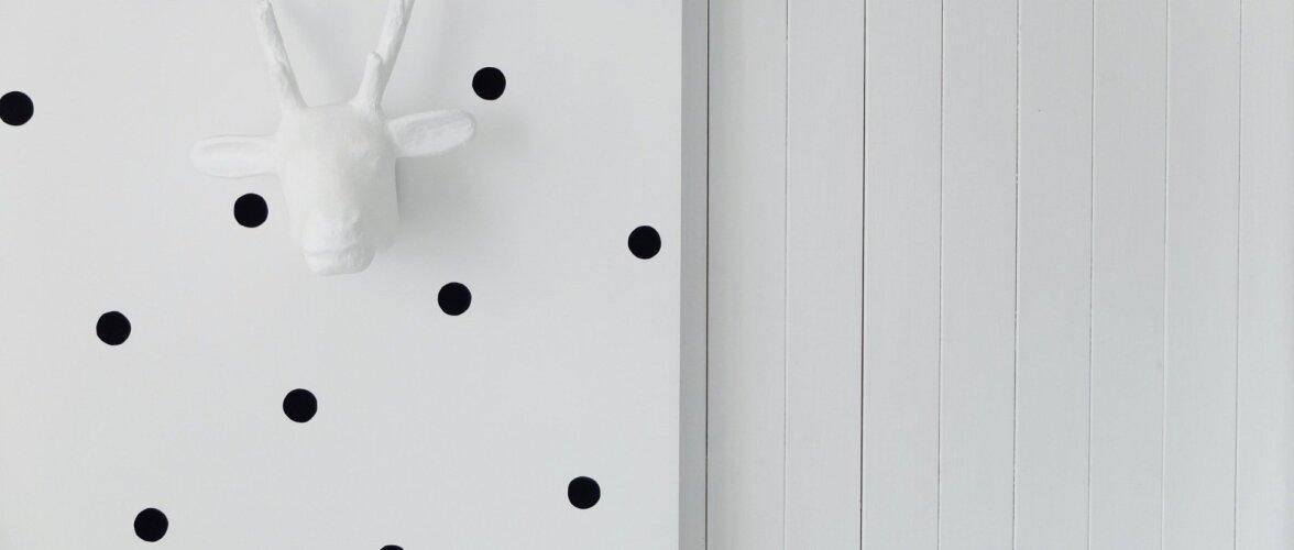 MIRAMII BLOGI: Kuidas valgeid seinu lihtsasti elavdada