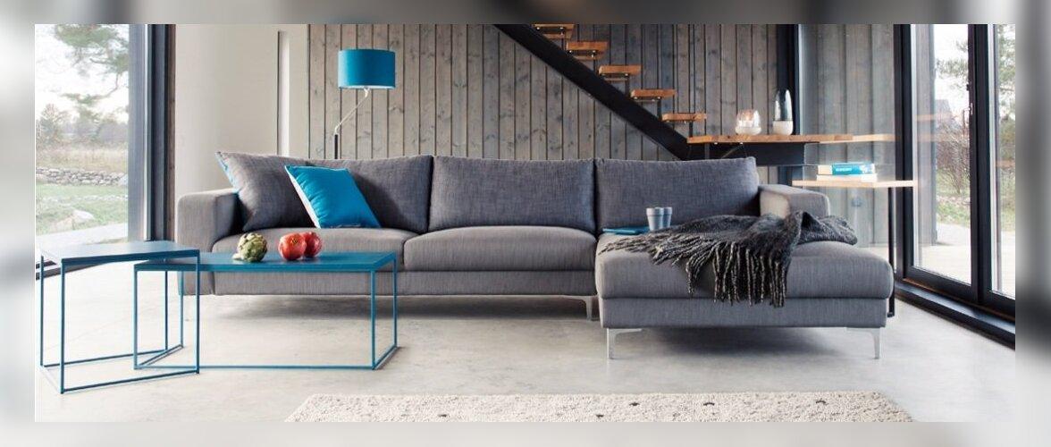 Pehme mööbli trendid 2015: klassikaline luksus, taaskasutus, universaalsus ning julged värvid ja uued materjalid