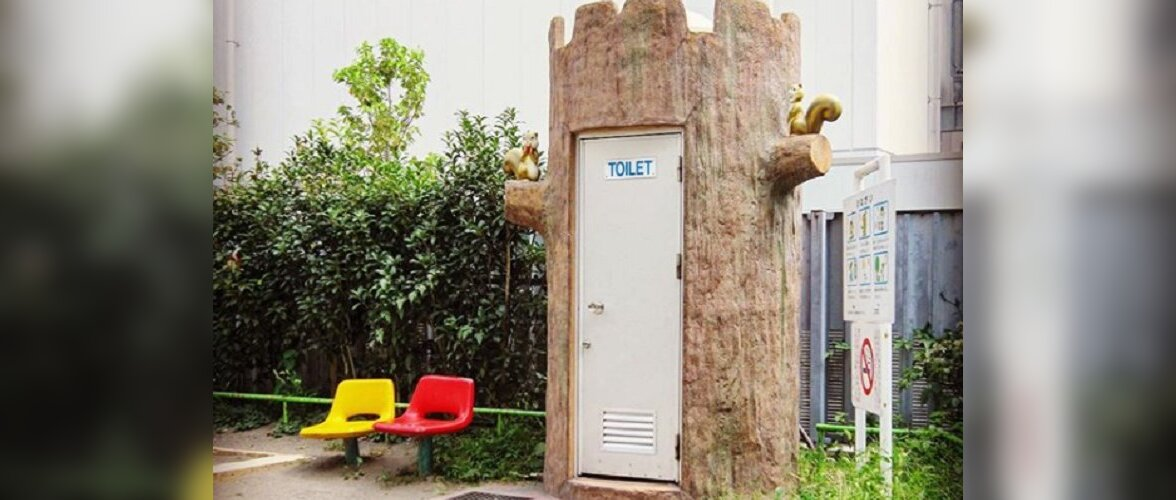 Японский фотограф: Туалет — это тоже искусство!