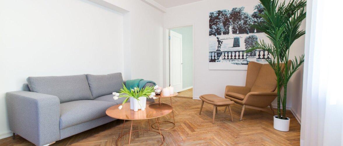 Funktsionalistlik Villa Soans pakub ajastutruud elukeskkonda