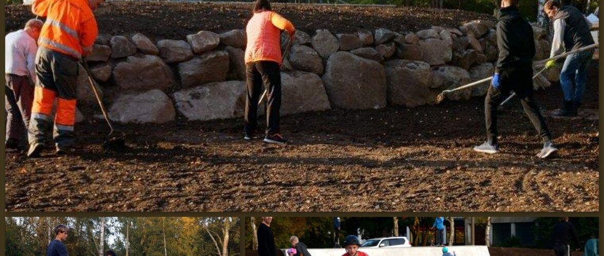 Põhja-Eesti suurim betoonist moniliitne rulaväljak on valmis