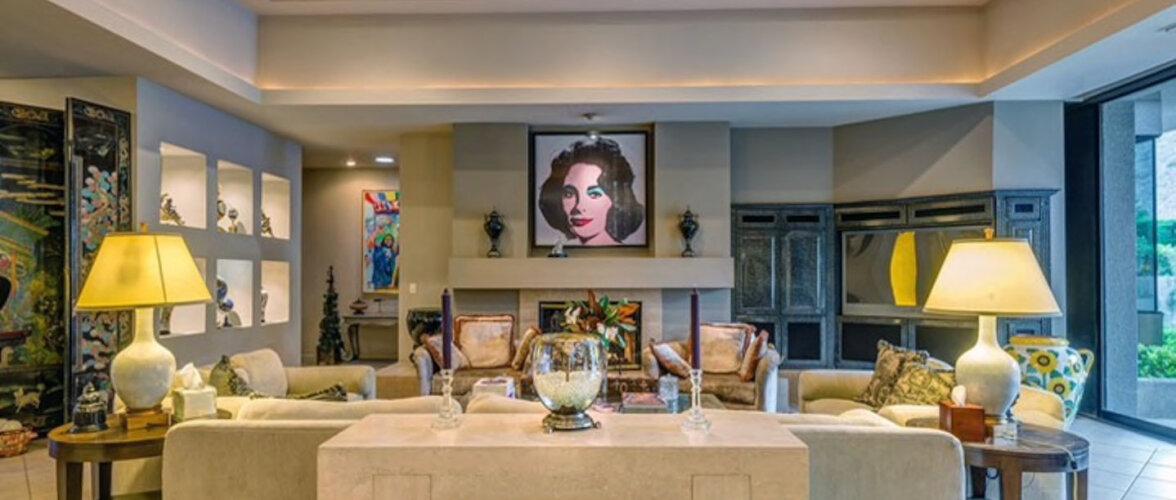 Elizabeth Taylorile kuulunud villa pakub puhkajale taskukohast peatuspaika