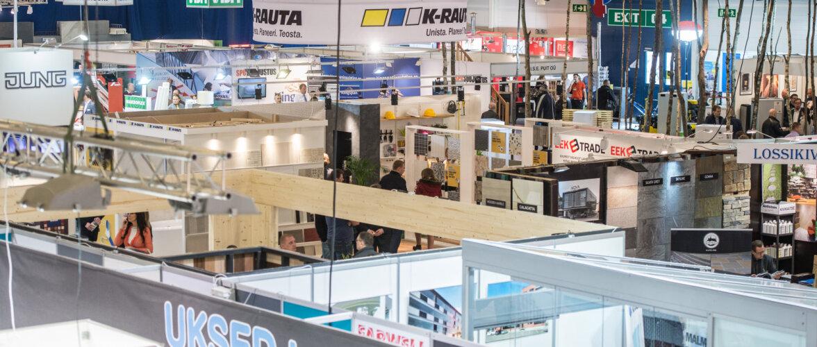 Homme algab Eesti suurim ehitusmess. Firmad loodavad messil müügiedu suurendada