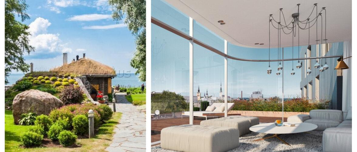 FOTOD | Vaata suurejoonelisi maju ja kortereid, mis maksavad üle miljoni euro