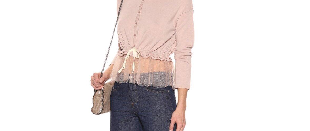 Moeküsimus: kas pitsist või läbipaistev rõivas sobib sügisesse?