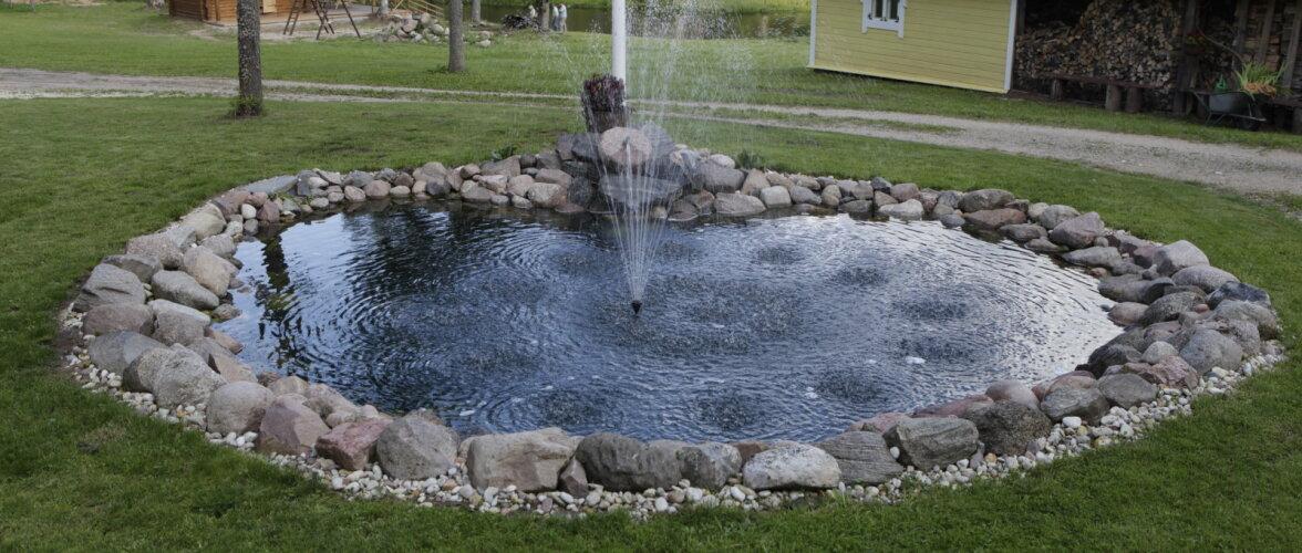 Veesilm toob aeda elu — tiigi rajamise ABC