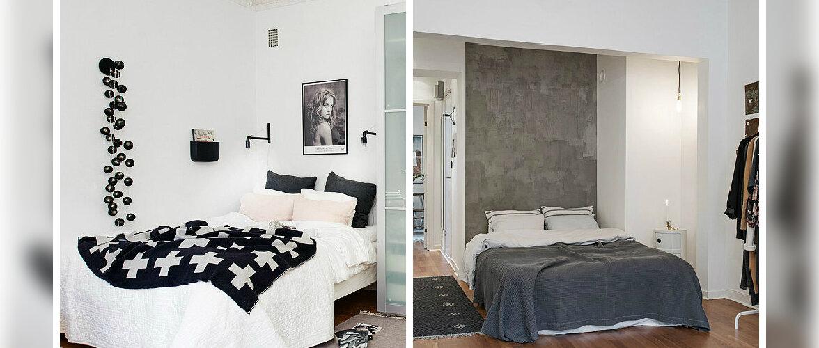 FOTOD: Kui kodu on väike — magamistuba elutoas