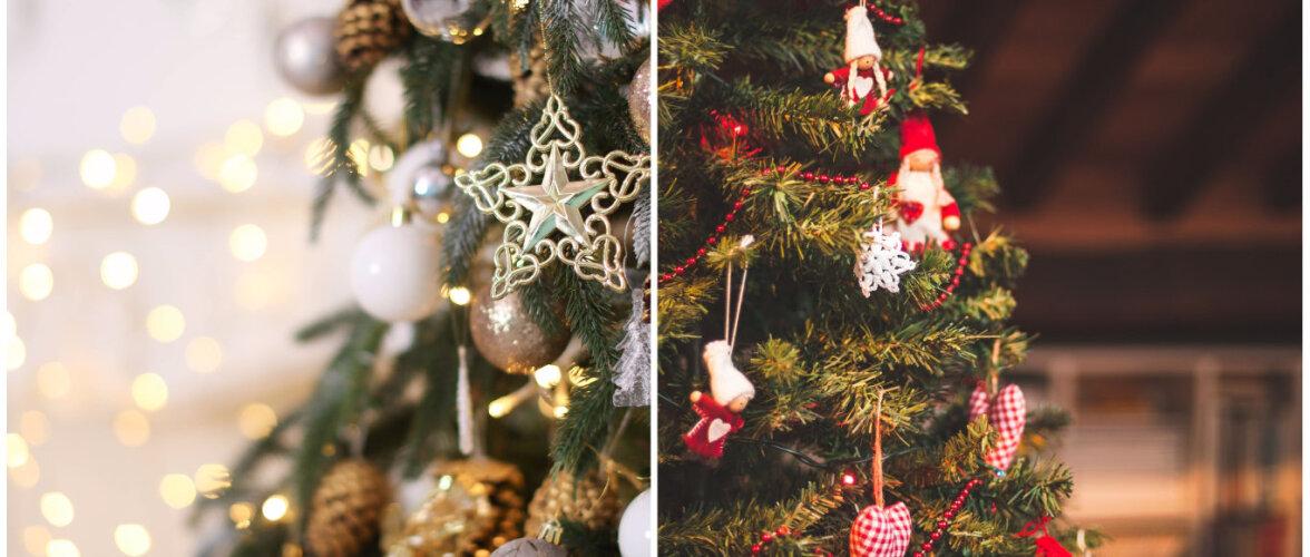Millises stiilis kaunistada jõulupuu — kaheksa popimat ideed!