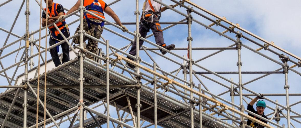 Ehitustellingute nõudeid kiputakse eirama. Möödunud aasta tõi 2 surmajuhtumit