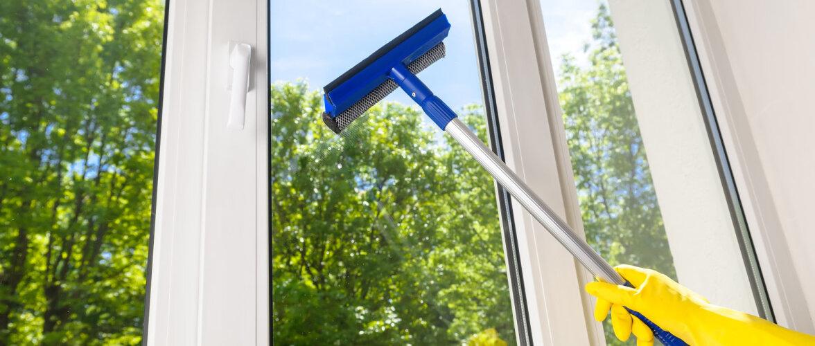 Põhilised vead, mida akende pesemisel tegema kiputakse