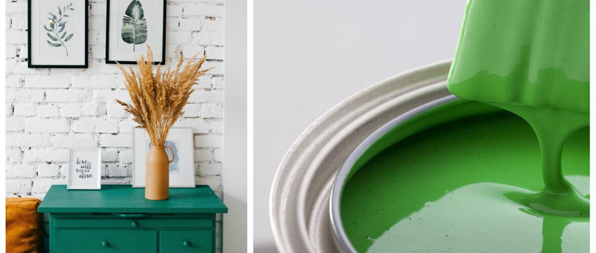 Seitse leidlikku ideed, kuidas remondist järele jäänud värvi ära kasutada