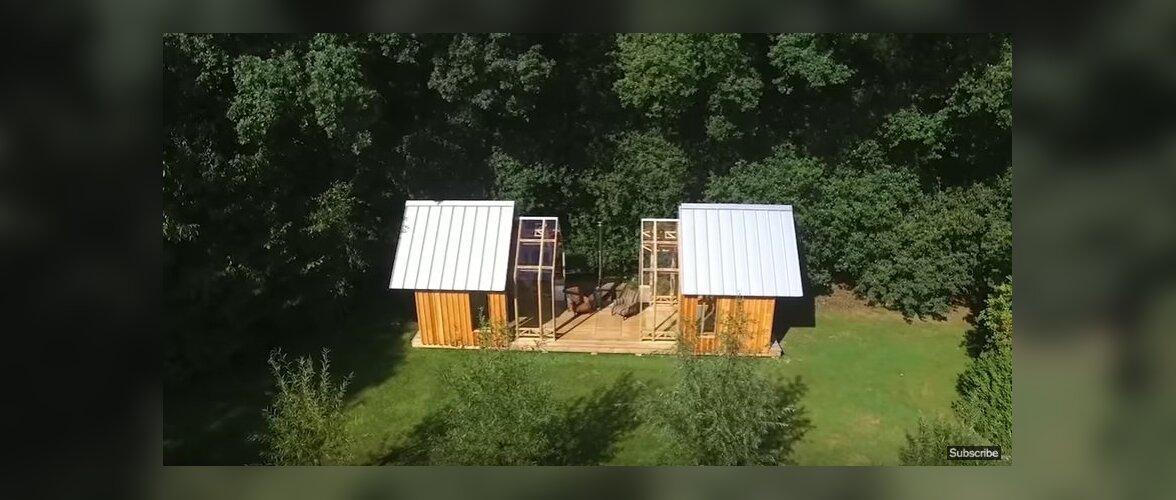 VIDEO: Õhuline ja siinide abil liigendatav suvemaja