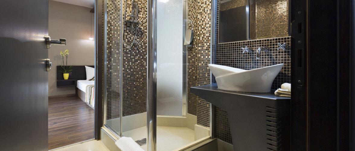 Moodne vannituba eeldab ka sobilikku dušinurga lahendust