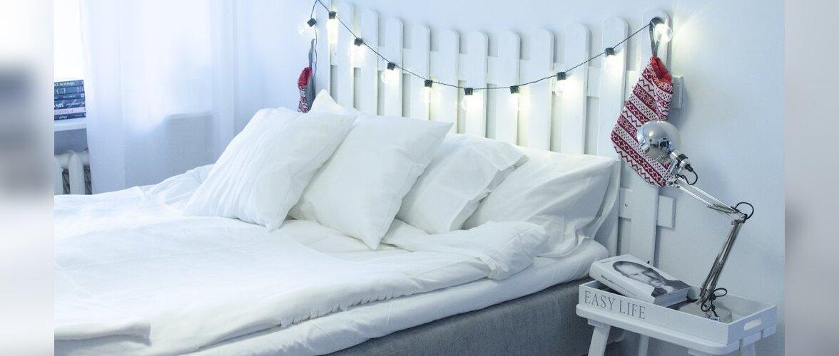 MIRAMII BLOGI: Ilmetust magamistoast sündis stiilne ja valgusega täidetud pesa — magamistuba enne ja pärast remonti