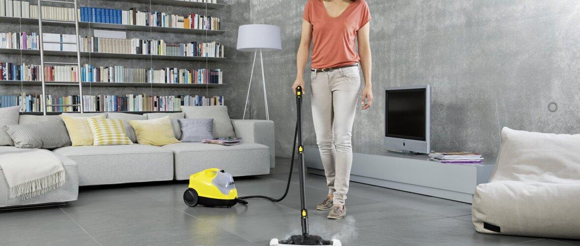 Seitse head põhjust auruga puhastamiseks