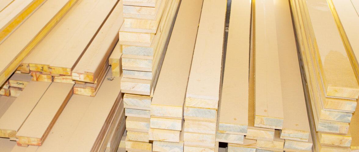 Puidutööstuse eksport kasvab, erilise hüppe on teinud vineeri eksport