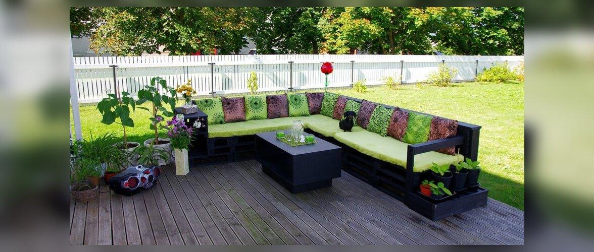 """Fotovõistlus """"Minu kodu suvel"""": Riinu värviline terrass lausa kutsub istuma"""