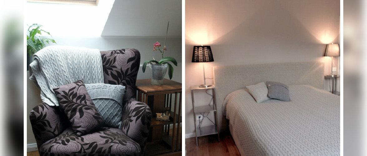 """Fotovõistlus """"Minu kaunis magamistuba"""": Katusealune tuba, kust õhkub soojust ja hubasust"""