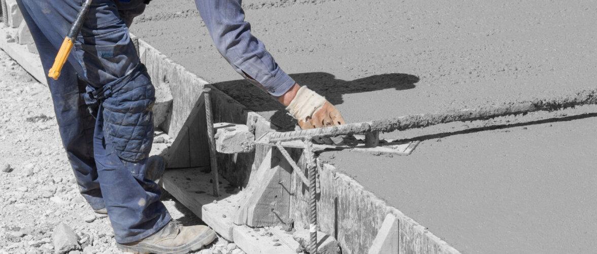 Uuendused nihutavad betoonteede ehitamise piire. Bituumeni hind on jõudsalt kallinenud