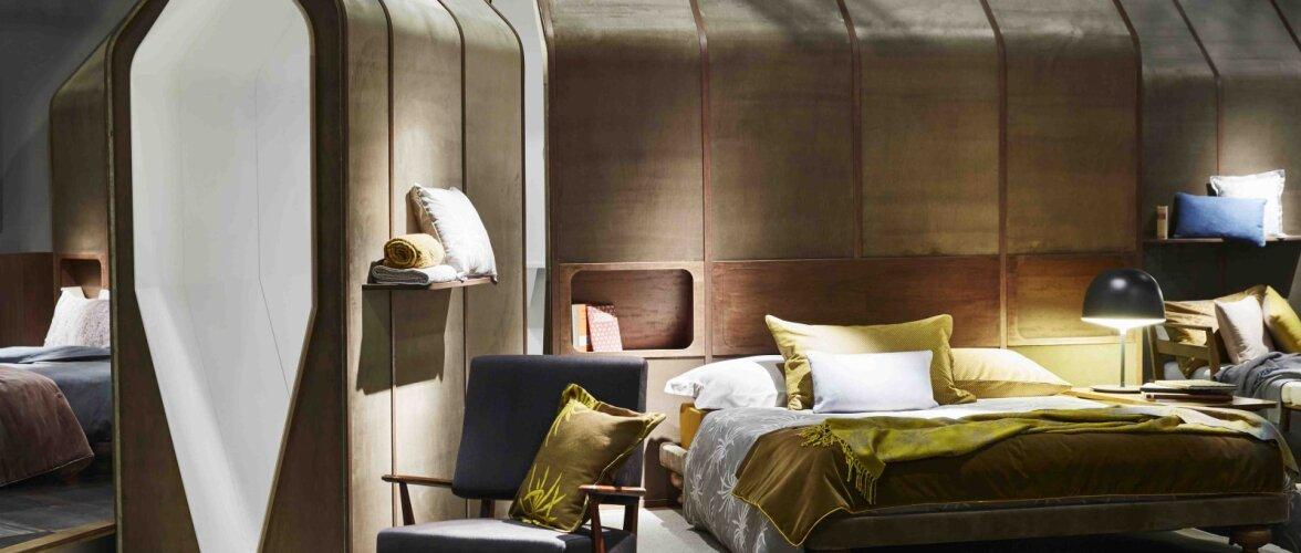 Värsked tuuled magamistoas — vaata trende Habitare ja Maison&Objet sisustusmessidelt!