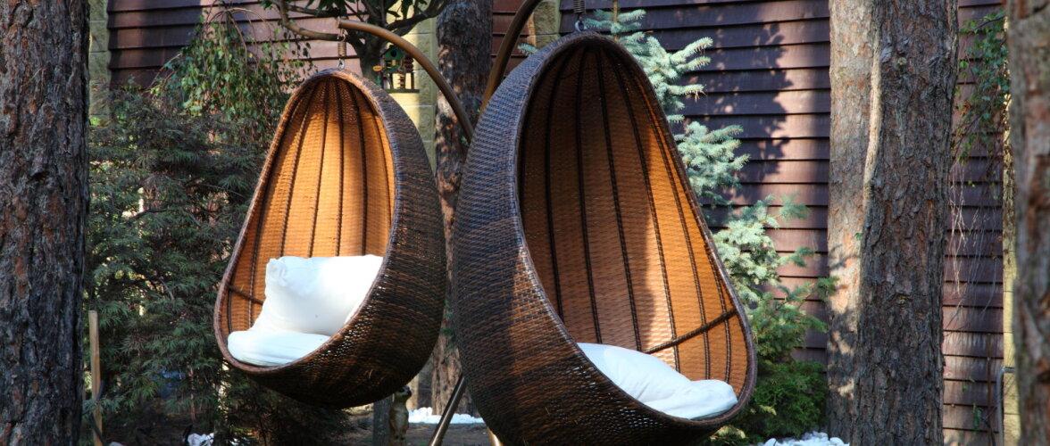 Aiamööbel talvepuhkusele — kuidas hoida metallist, puidust ja plastikust õuemööblit