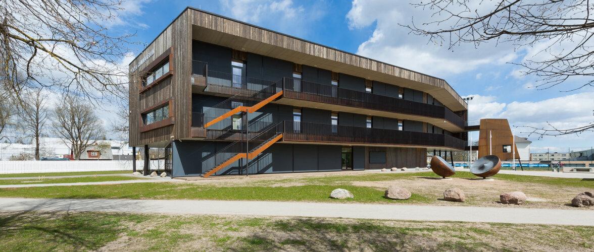 Põlva Gümnaasiumi õppehoone valiti Euroopa silmapaistvaimate regionaalprojektide hulka