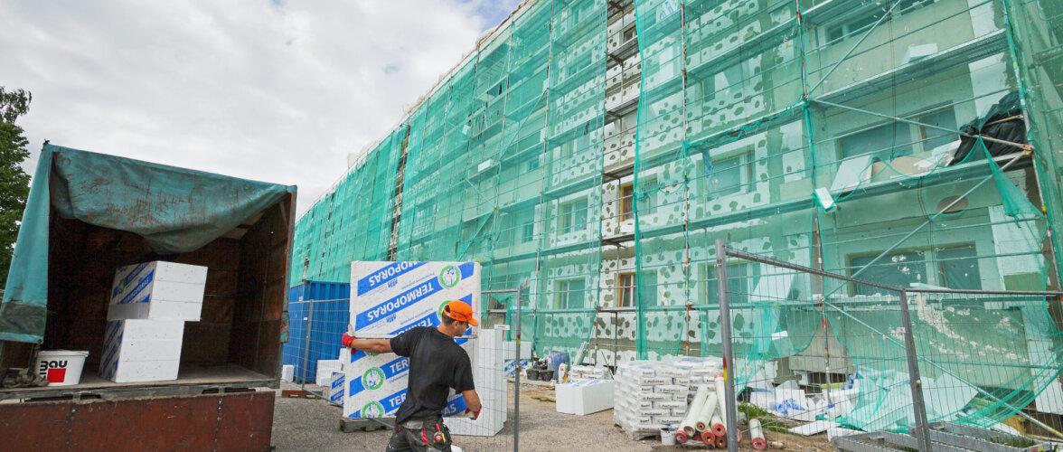 20 000 korterelamut on meil soojustamata ja ventileerimata. Tükkhaaval töid tehes energiasäästu ei saavuta