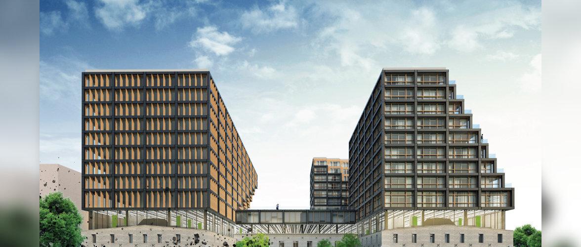 Vaata ja hääleta, millisest ulmeprojektist saab uus Ülemiste City süda!