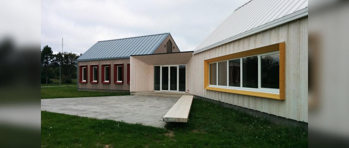 Aasta Puitehitis 2014 on Eikla küla seltsimaja Saaremaal