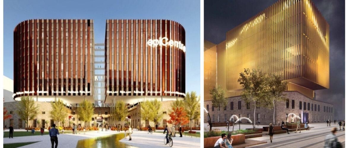 Vaata ja hääleta: millisest ulmeprojektist saab uus Ülemiste City süda