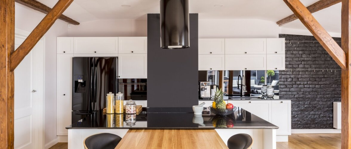 Kontrastid sisekujunduses — kuidas need kodu heaks tööle panna