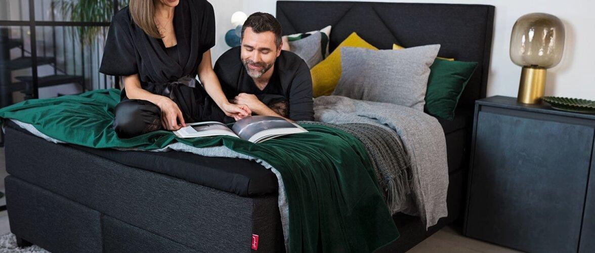 Kontinentaalvoodi – uus trend eestlase magamistoas
