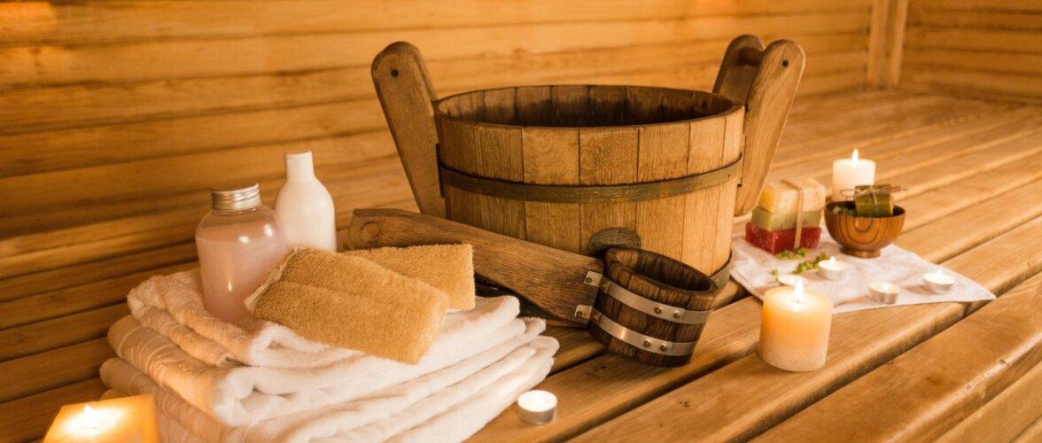 Kuhu rajada saun?