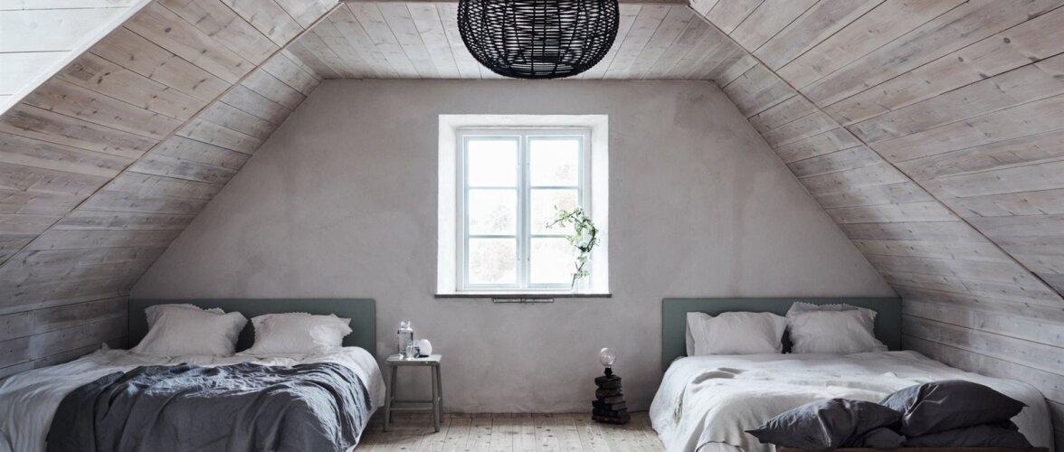 Vanasse majja rajatud suurejooneline elamine Gotlandil