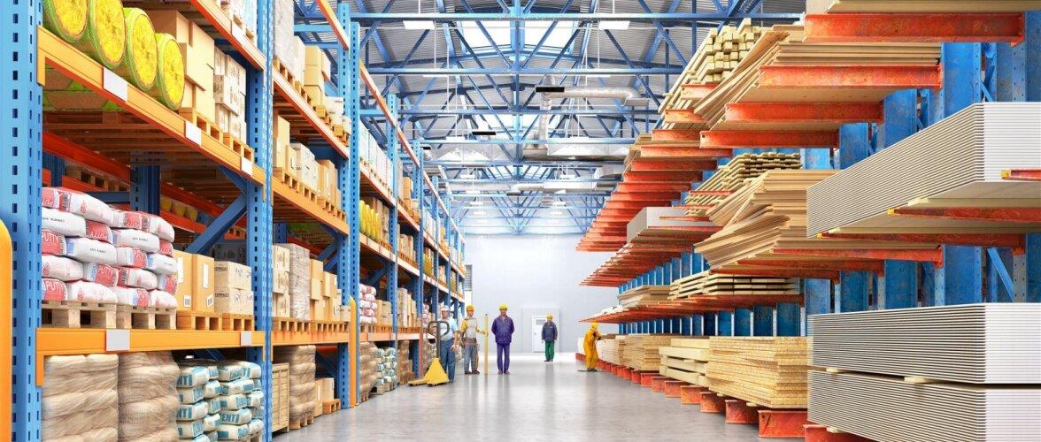 Lugeja küsib: Miks on mõned ehituskaubad sama poeketi Läti kaupluses odavamad kui Eestis?