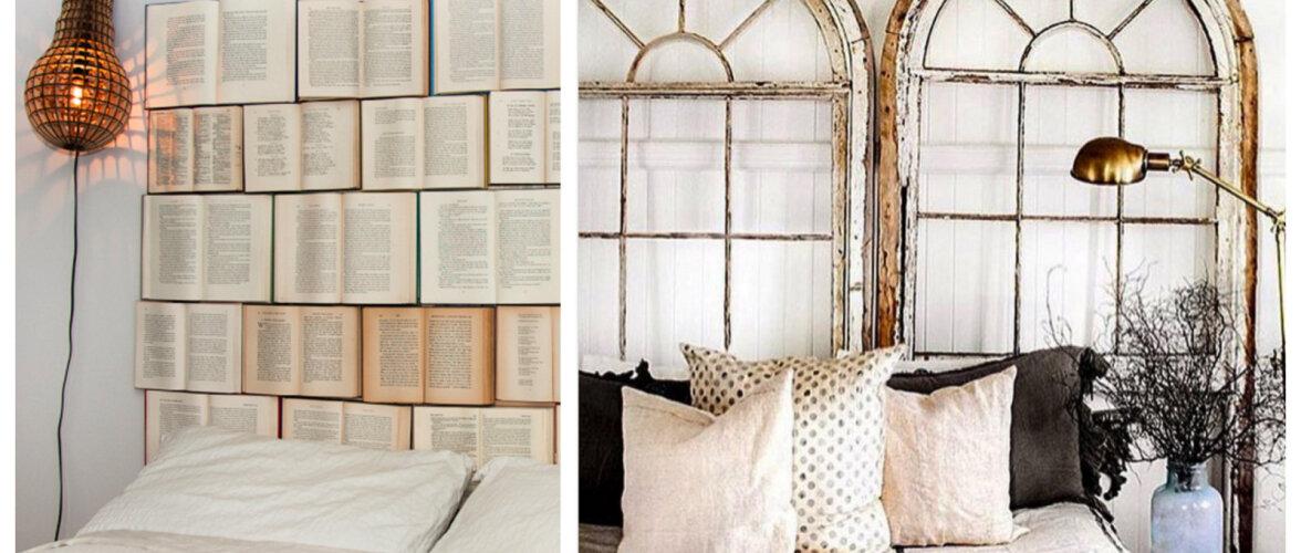 Leidlikud ideed magamistuppa — kuidas kujundada voodipeatsit