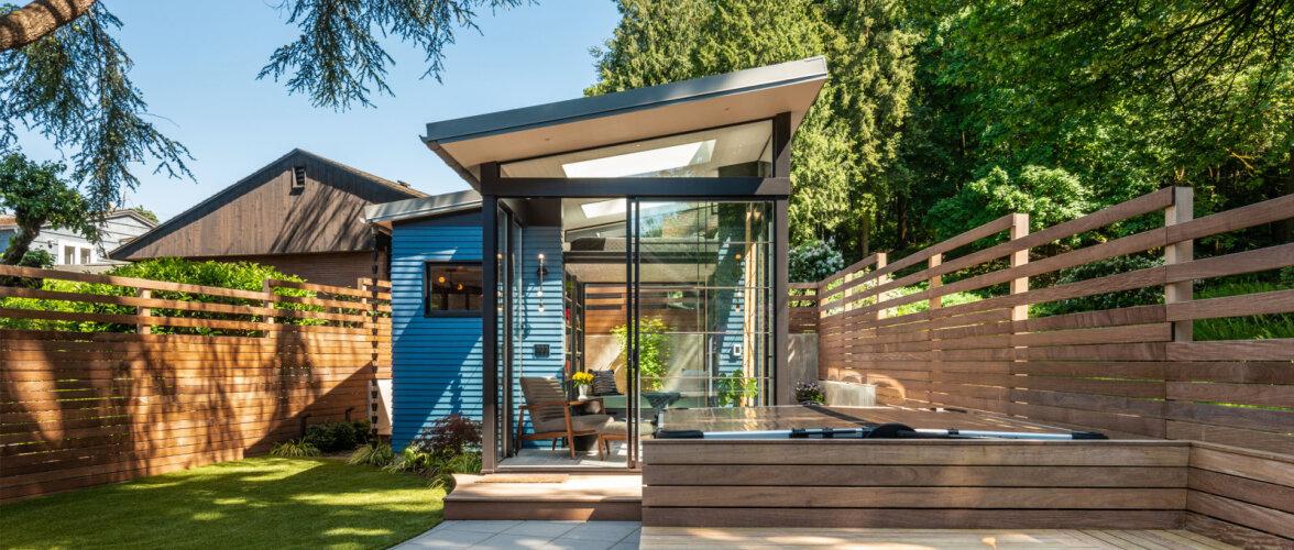 Unistuste aiamaja, mis võlub oma disainiga nii seest kui ka väljast