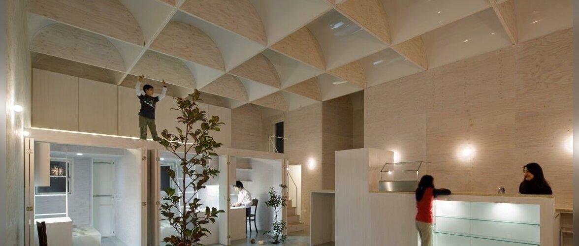 Keldrikorrusele rajatud 30 katuseaknaga kodu
